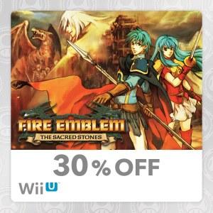 30% Off Wii U Fire Emblem The Sacred Stones My Nintendo Reward