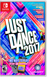 Box Art Just Dance 2017