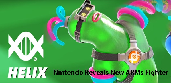 New ARMs Fighter Revealed - HELIX