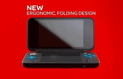 New Nintendo 2DS XL Ergonomic Folding Design Preview