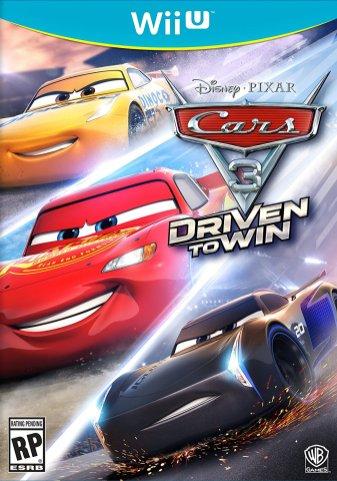 Cars 3 Driven to Win - Wii U Box Art