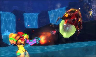 Metroid Samus Returns Nintendo 3DS Screenshot Preview B