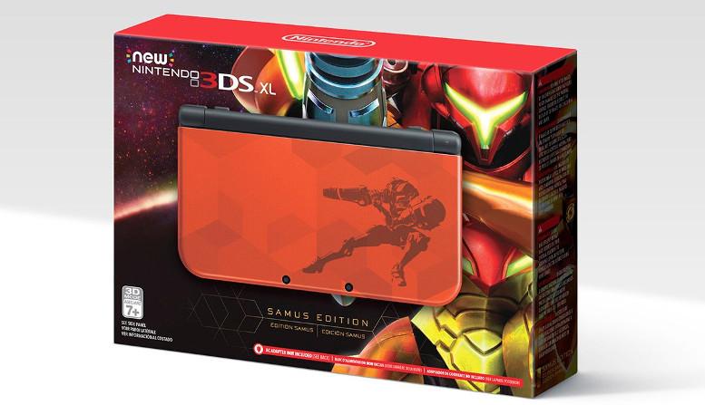 Samus Edition New Nintendo 3DS XL