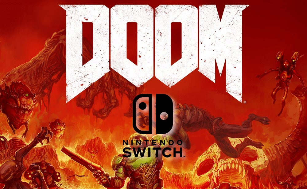 Doom on Nintendo Switch