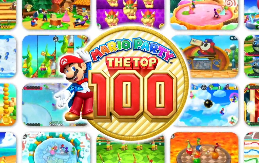 Mario Party The Top 100 Nintendo 3DS