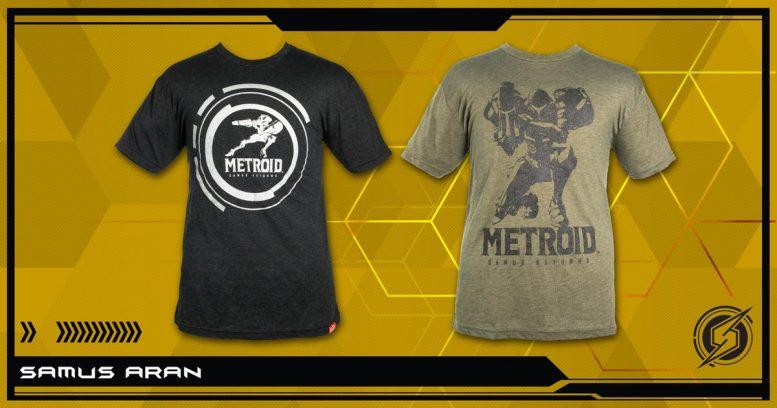 Metroid Samus Returns T-Shirts