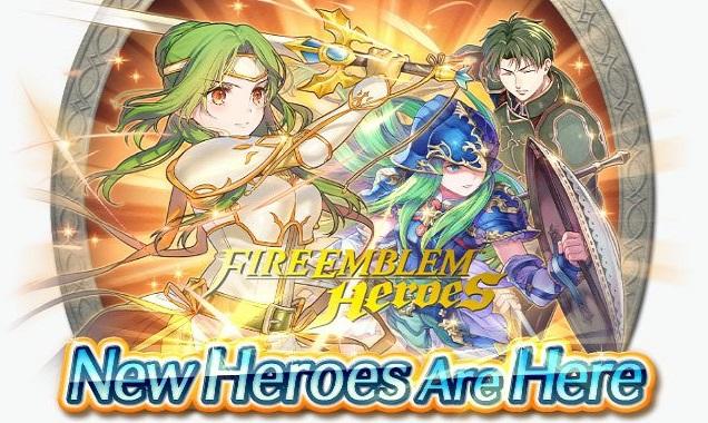 Fire Emblem Heroes Elincia, Oscar & Nephenee