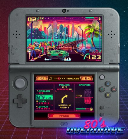 80's OVERDRIVE 3DS Screenshot C