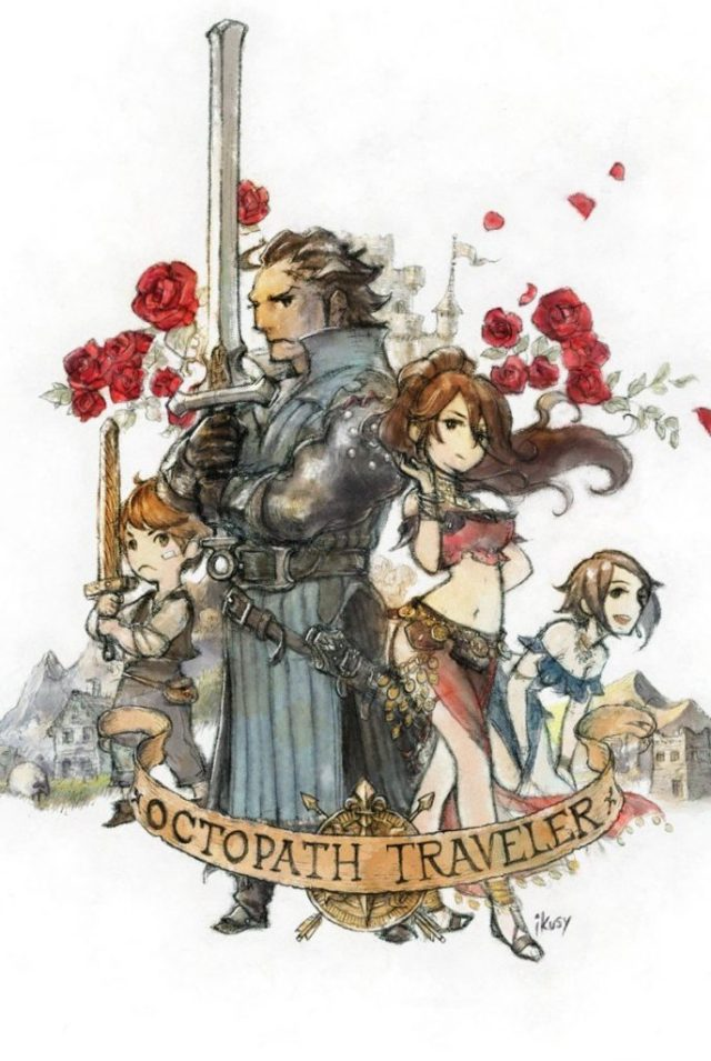Project Octopath Traveler Illustration