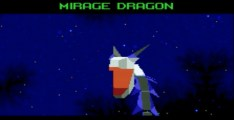 Mirage Dragon boss in Star Fox 2