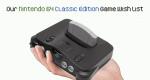 Nintendo 64 Classic Edition Mock-Up
