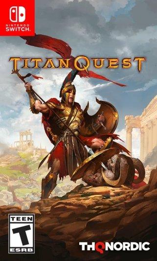 Titan Quest Box Art - Nintendo Switch