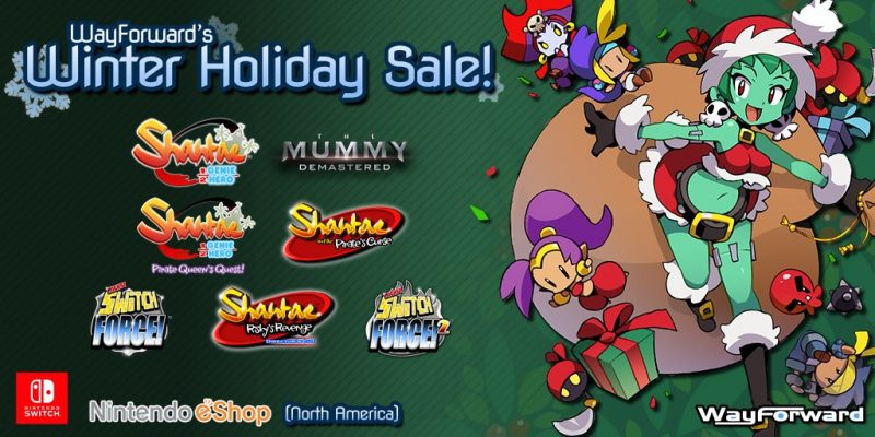 WayForward Nintendo eShop holiday sale