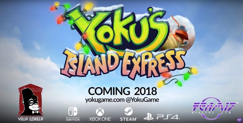 Yoku's Island Express holiday trailer