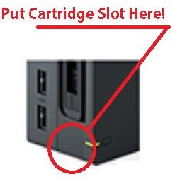 Nintendo Switch TV Dock Mock-up with Cartridge Slot