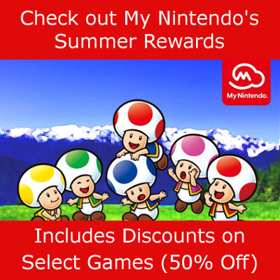 My Nintendo Summer Rewards 2018