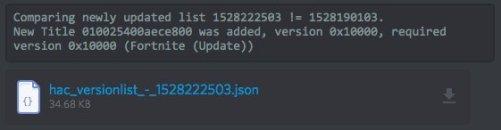Fortnite Switch eShop Json File