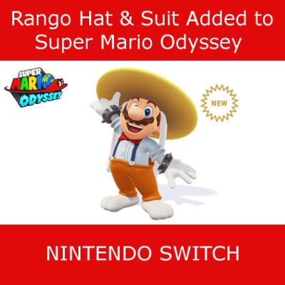 Rango Hat & Suit Super Mario Odyssey