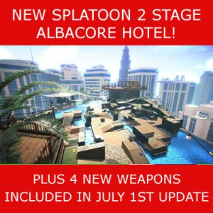New stage and weapons Splatoon 2
