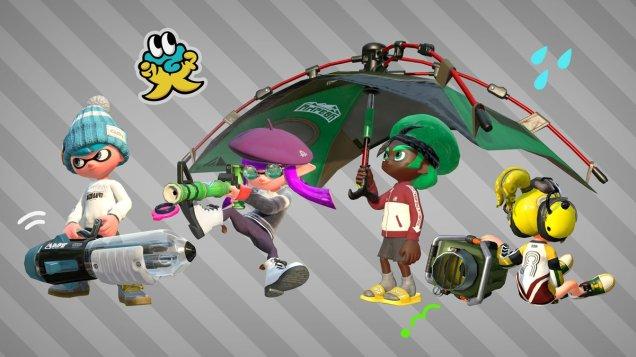 New weapons in Splatoon 2 July 1st update