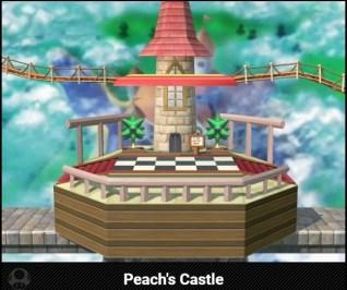 Peach's Castle Stage