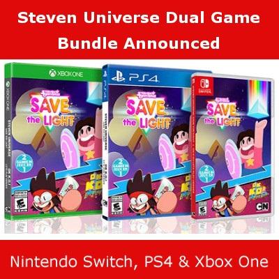 Steven Universe Ok Ko! Bundle, Switch, PS4 & Xbox One