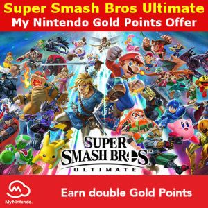My Nintendo double gold points Super Smash Bros Ultimate offer