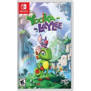 Yooka-Laylee Nintendo Switch Physical Version