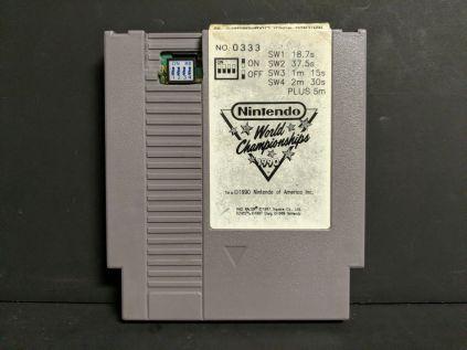 1990's Nintendo World Championship - Gray - Number 333