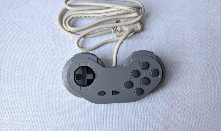 Rare Super Nintendo Sony CD Attachment Controller