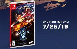 Raiden V Director's Cut Nintendo Switch Release Date