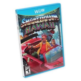 Box Art - Shakedown Hawaii Wii U Version