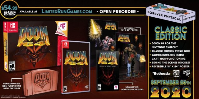 Doom 64 Classic Edition Nintendo Switch
