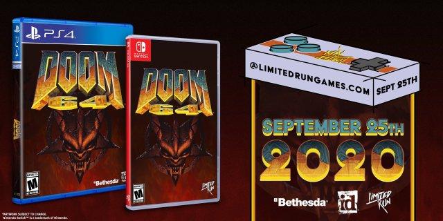 Doom 64 Preorder details Limited Run Games