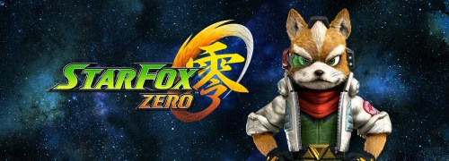 Star Fox Zero for the Wii U, special banner