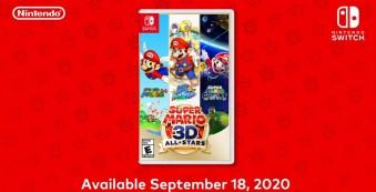 Super Mario 3D All-Stars - Physical Box Art