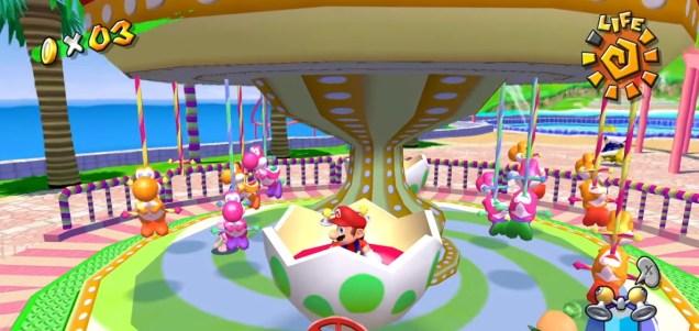 Super Mario Sunshine - Screenshot Super Mario 3D All-Stars