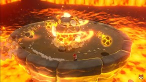 Lava Boss - Super Mario 3D World + Bowser's Fury on Nintendo Switch