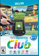 Box Art - Wii Sports Club - North American Box Art