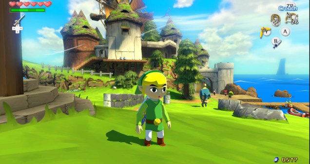 Zelda - Wind Waker HD - Wii U Screenshot