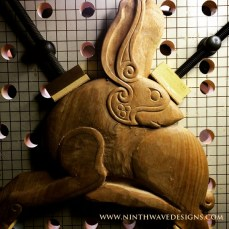 Further refining of the overall form of the hare.