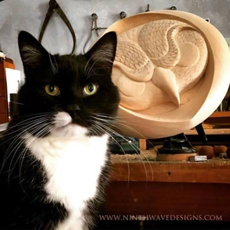 My carving companion.