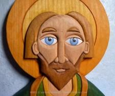 Detail of St. Patrick.