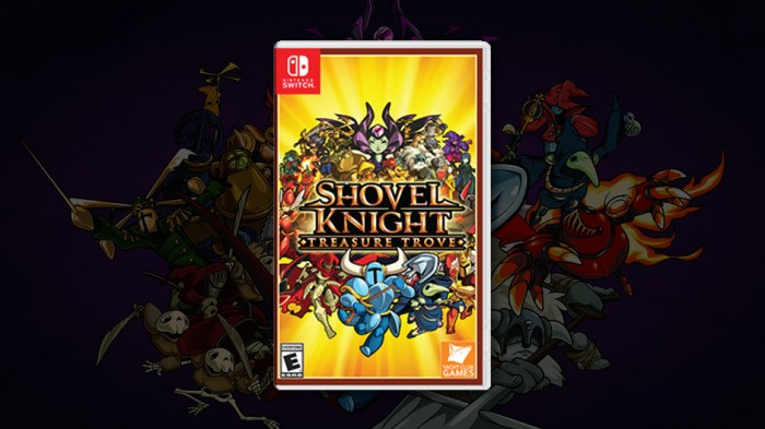 Shovel Knight Treasure Trove Switch physical edition