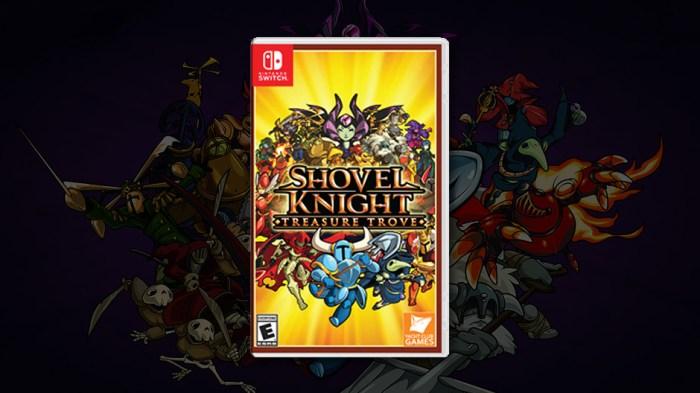 Shovel Knight Treasure Trove Switch physical edition