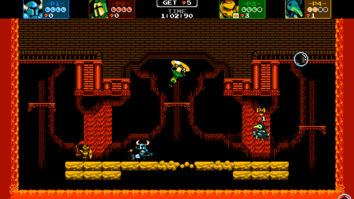 Shovel Knight Showdown gameplay screenshot