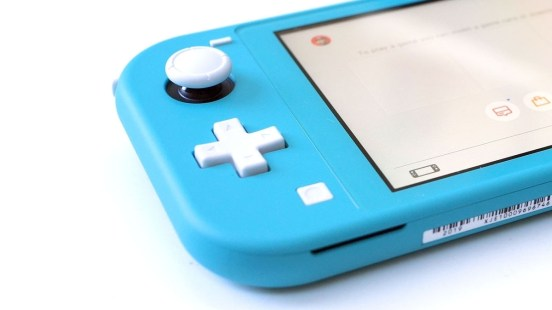 Switch Lite Header