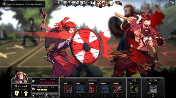 Dead in Vinland - Switch Viking game