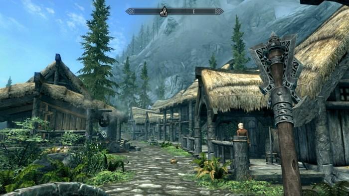Skyrim on Switch - Viking game