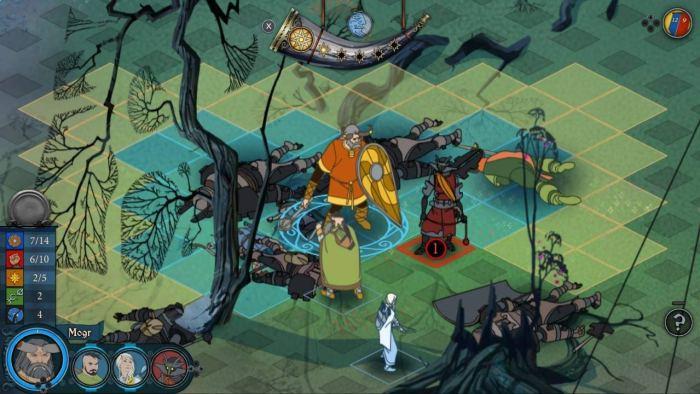 The Banner Saga Trilogy - Viking game on Switch